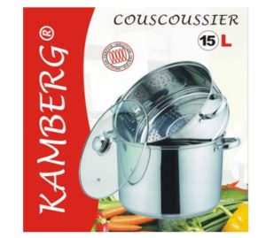 Couscoussier Kamberg 0008074 sous emballage